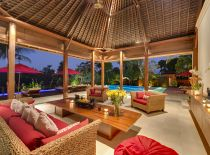 Villa Astika Toyaning, Living room area