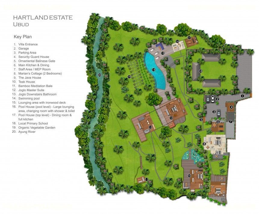 Villa Hartland Estate Floor Plan