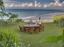 Villa The Luxe Bali, Dining With Ocean View